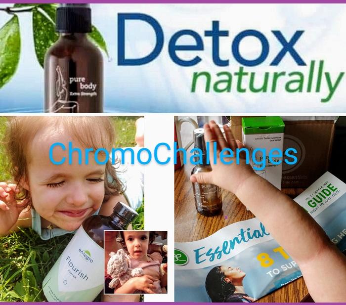 ChromoChallenges Jess Plummer Natural Detox Natural Zeolite Touchstone Essentials Pure Body Live Probiotic Entegro Flourish