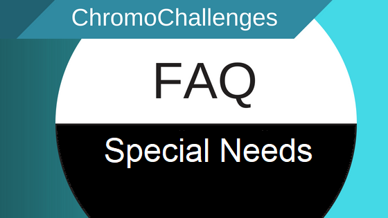 ChromoChallenges Jess Plummer FAQ Special Needs SN