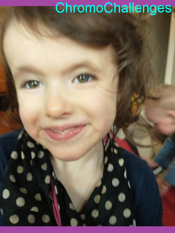 ChromoChallenges Jess Plummer Trisomy Awareness Month 2021 Day 5 Happy