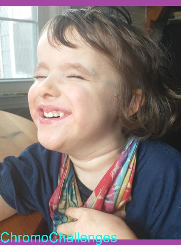 ChromoChallenges Jess Plummer Trisomy Awareness Month 2021 Day 9 Joy