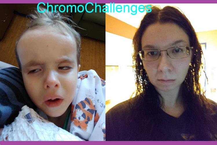 ChromoChallenges Jess Plummer Trisomy Awareness Month 2021 Day 9 Fear