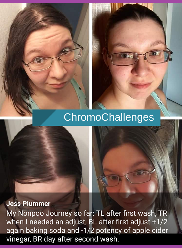 ChromoChallenges Jess Plummer LowPoo Journey First To Second Wash