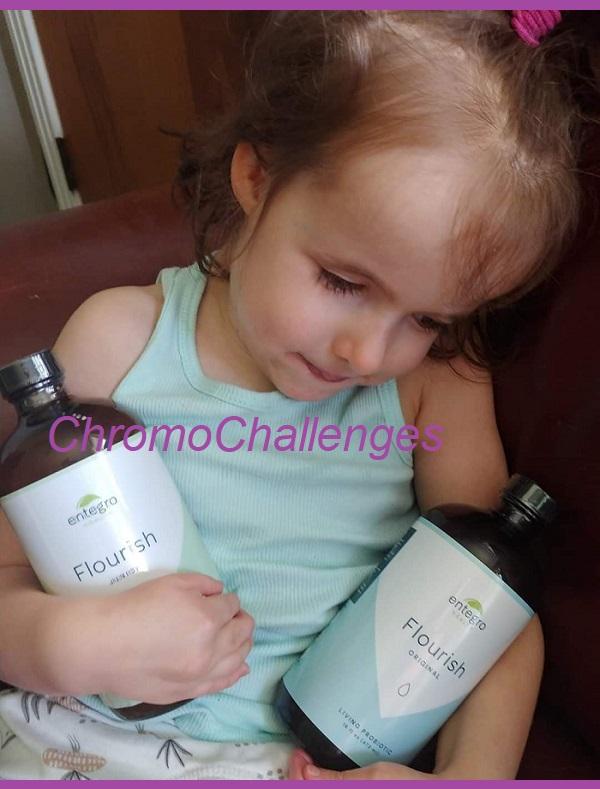 ChromoChallenges Jess Plummer Entegro Flourish Live Probiotic